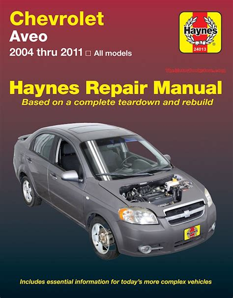 motor auto repair manual 2011 chevrolet colorado on board diagnostic system chevy aveo service repair manual by haynes 2004 2011