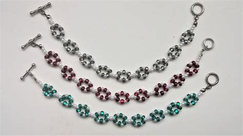3 Easy Bracelets Great For Beginners Easy Beading