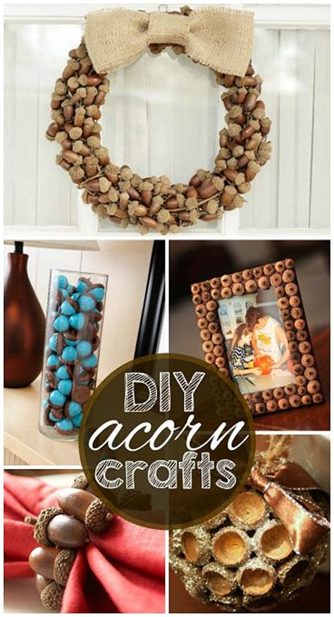 acorn craft projects my favorite diy acorn crafts fall projects for adults and