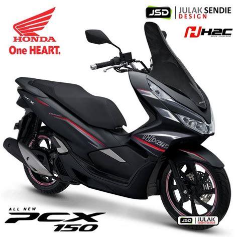 Pcx 2018 Thailand by All New Honda Pcx 2018 Thailand By H2c Julak Sendie