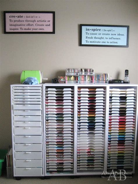 craft paper storage embellished paper my new craft room
