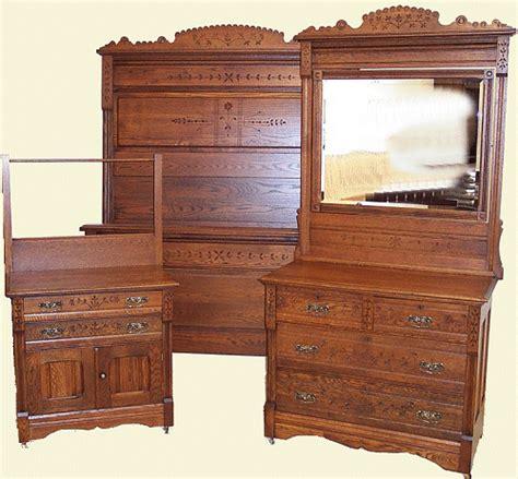 antiques bedroom furniture antique bed set oak eastlake spoon carved bed set