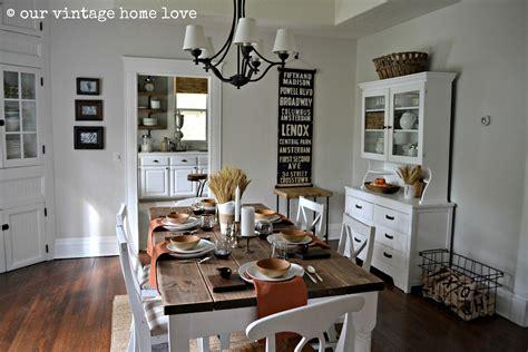 vintage industrial home decor our vintage home autumn table decor and a vintage