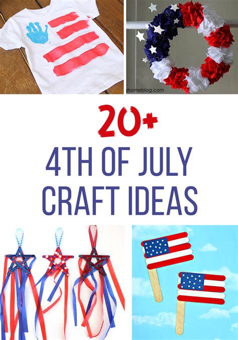 fourth of july craft ideas for 20 fourth of july craft ideas thriving home