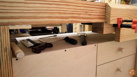 jays woodworking and easy workbench cabinet jays custom creations