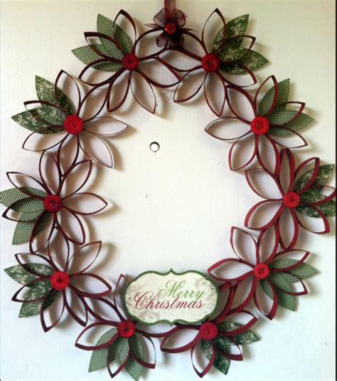 toilet paper roll wreath craft toilet paper wreath ornaments money