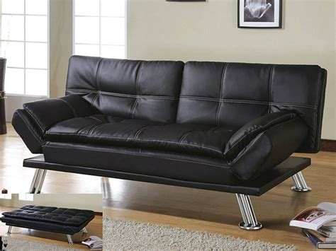 leather sofa bed with chaise leather sofa beds costco costco black bonded