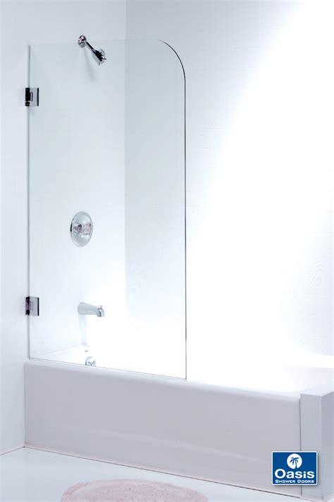 Frameless Tub Shower Doors by Frameless Glass Shower Spray Panel Oasis Shower Doors Ma