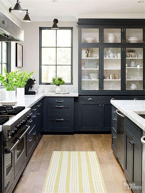 black modern kitchen cabinets best 25 black kitchen cabinets ideas on