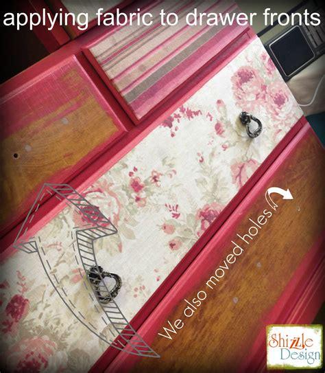 decoupage fabric on wood furniture how we decoupage fabric to furniture onto painted furniture