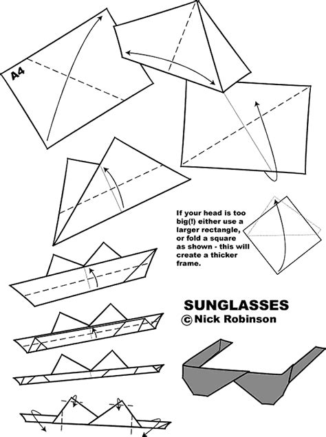 origami eyeglasses blog4eye origami brille