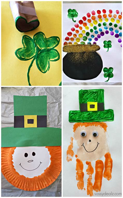 st patricks crafts for easy st s day crafts for crafty morning