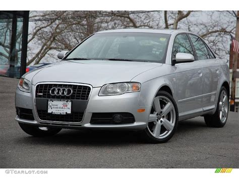 Audi A4 3 2 by 2008 Light Silver Metallic Audi A4 3 2 Quattro S Line