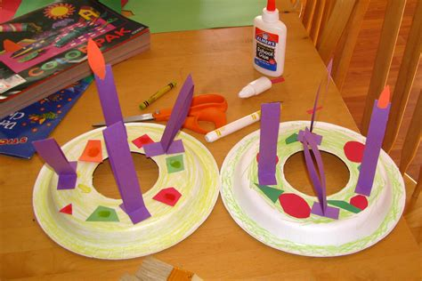 advent crafts for advent activities as we walk