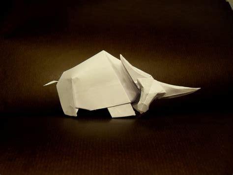 origami bison origami buffalo by orestigami on deviantart