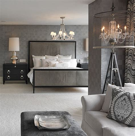 Grey Painted Rooms 20 master bedrooms with creative style solutions
