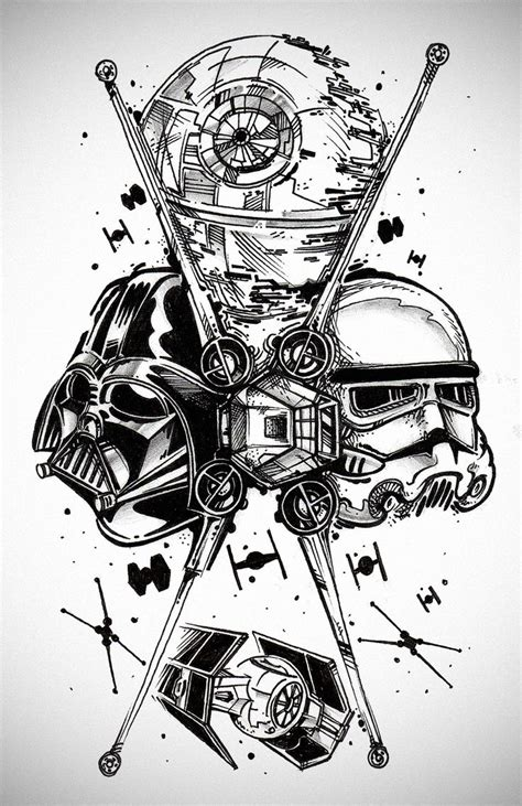 the 25 best star wars tattoo ideas on pinterest star