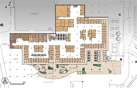 emergency room floor plan francis center emergency department on behance