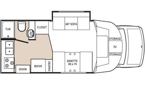 class b motorhome floor plans class b sprinter motor home floor plans quotes