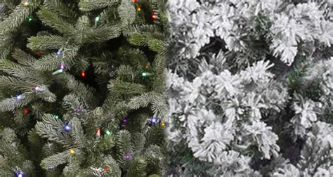 snow frosted tree flocked vs frosted trees northpoledecor