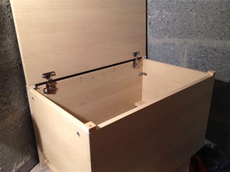 comment faire un coffre a jouet en bois myqto