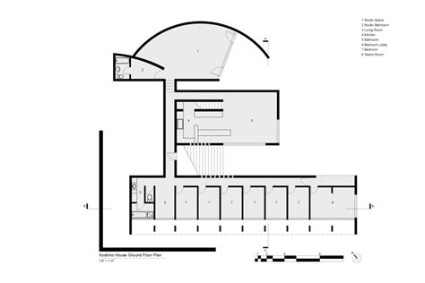 tadao ando floor plans koshino house morton