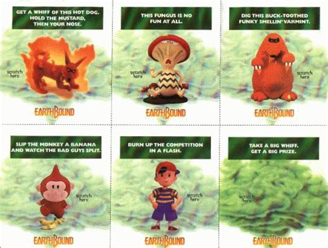 how to make scratch and sniff cards starmen net earthbound scratch n sniff cards