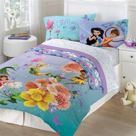 disney tinkerbell fairies floral bedding