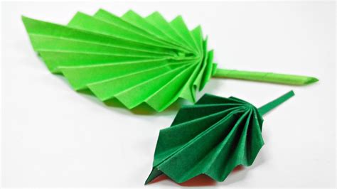 paper leaves craft origami leaf paper leaves diy design craft
