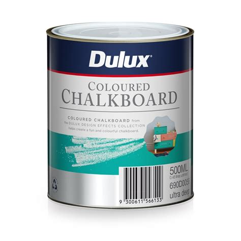 dulux wonderwalls chalkboard paint dulux 500ml ultra design coloured chalkboard paint