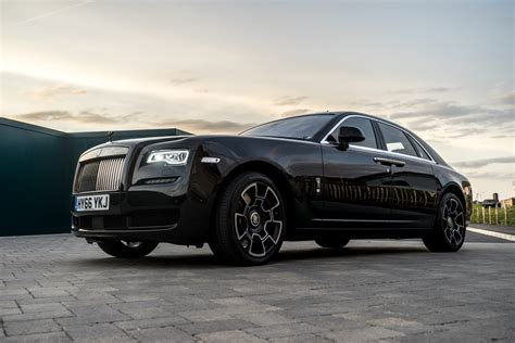 Rolls Royce Black by Disappearing Act In The Rolls Royce Black Badge Ghost Mr