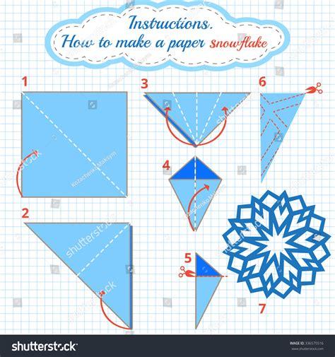 how to make a origami snowflake how to make paper snowflake tutorial
