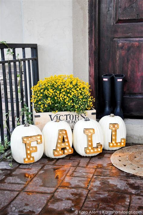 diy outdoor decor 7 diy marquee letters and signs for fall and holidays