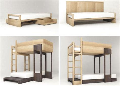 simple bunk bed designs simple modular wooden bunk beds to stack or stagger