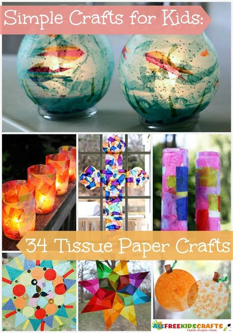 tissue paper crafts for toddlers simple crafts for 34 tissue paper crafts