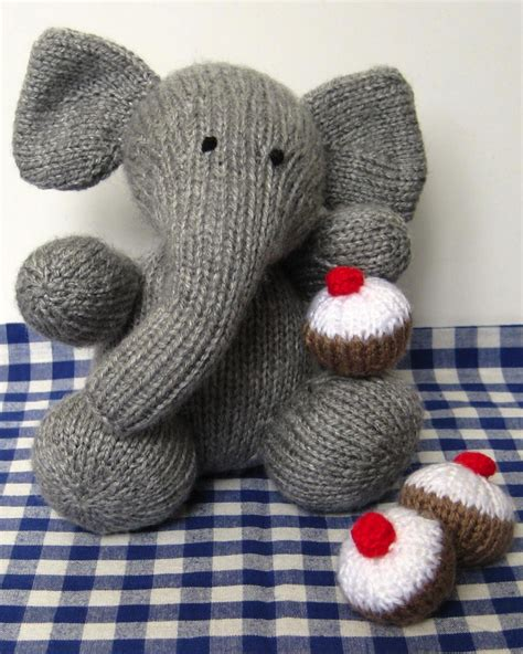 knitted elephant free pattern elephant knitting pattern the cutest patterns for