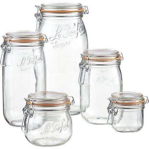 les bocaux de conserve en verre le parfait