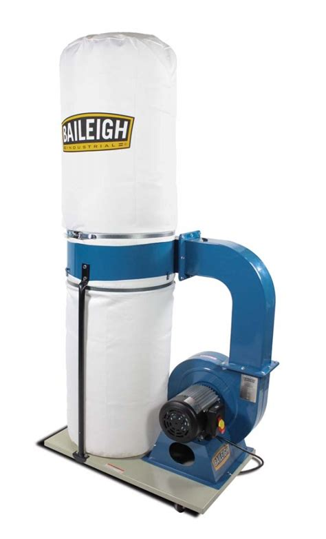 dust extraction woodworking baileigh 2 hp dust extraction system dc 1650b dust