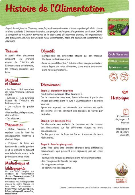 histoire de l histoire de l alimentation pirouette cacahu 232 te