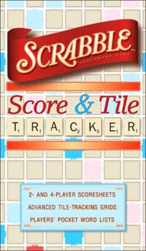 Scrabble 174 Score And Tile Tracker By Sterling Publishing