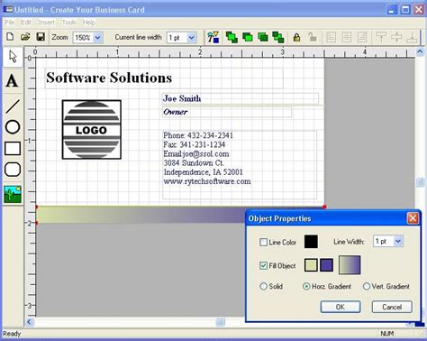 how to make a business card free printable business cards software cardworks