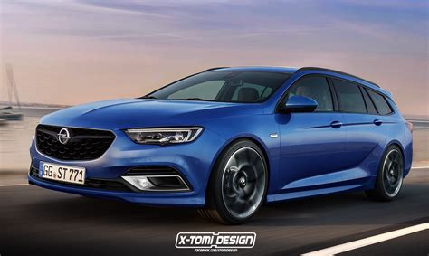 Opel Insignia by 2017 Opel Insignia Opc Commodore Ss Sportwagon Rendered
