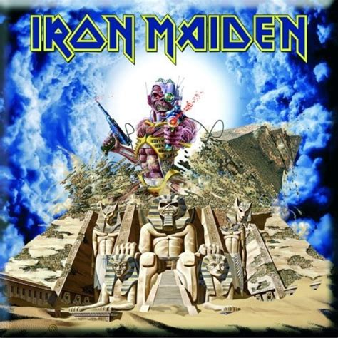 Posters Home Decor iron maiden somewhere back in time magnet