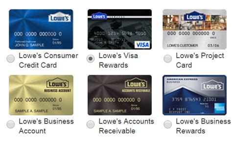 make a lowes credit card payment www lowesvisacredit card registration bill payment