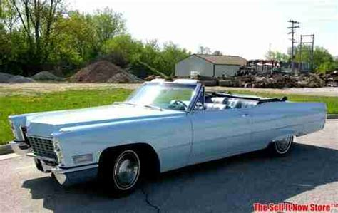 67 Cadillac Convertible by Sell Used Survivor 1967 67 Cadillac