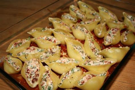 conchiglie farcis 224 la ricotta roquette jambon et tomates s 233 ch 233 es vi cuisine