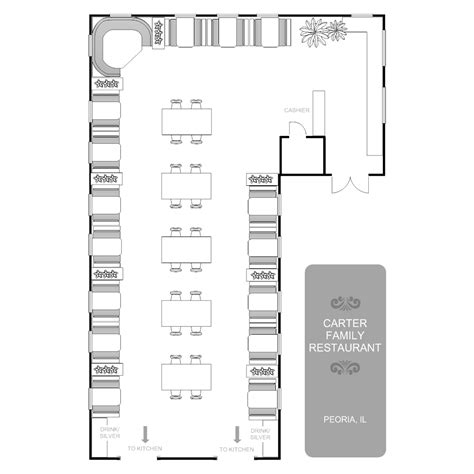 floor plans for a restaurant restaurant floor plan