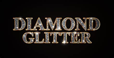 diamond glitter titles by xponentialdesign videohive