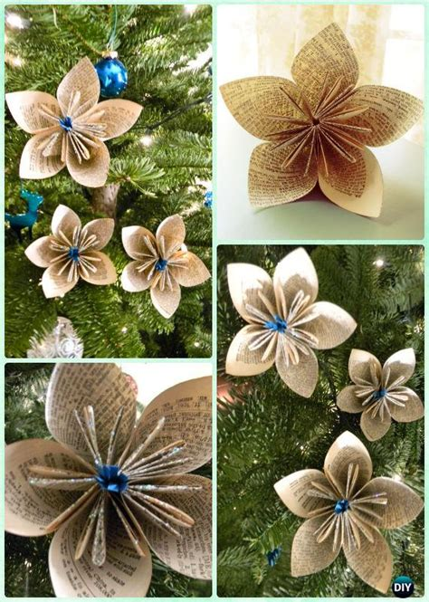 tree ornament craft ideas diy paper tree ornament craft ideas