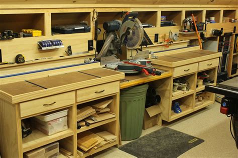 how to set up a woodworking shop in the garage todd fratzel tool crave